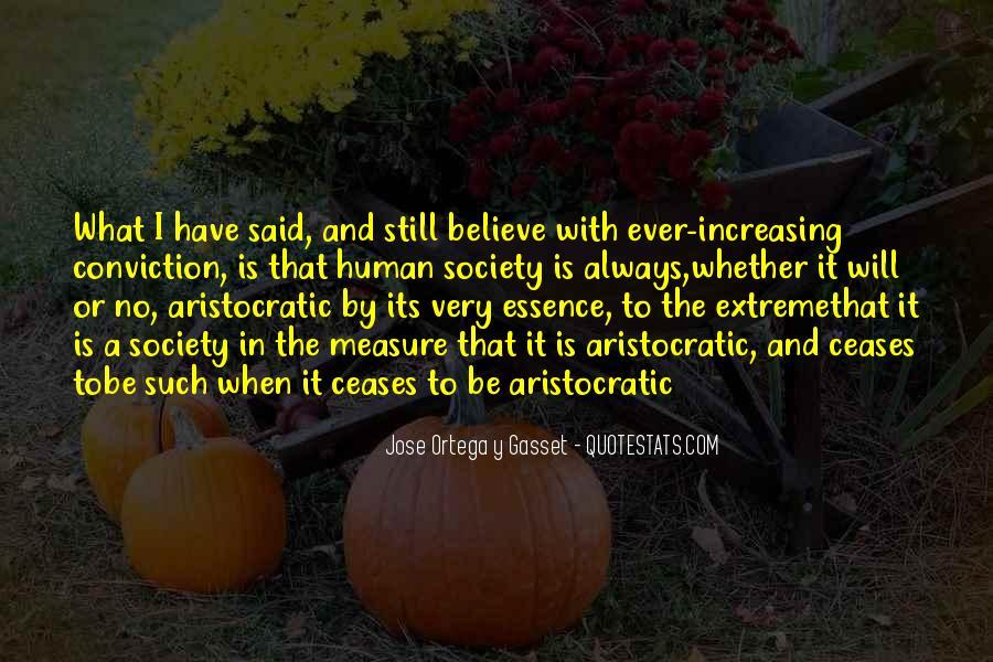 Aristocratic Philosophy Quotes #1023149