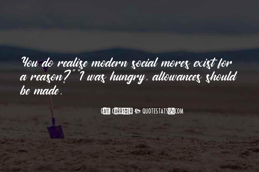 Quotes About Mores #1478196