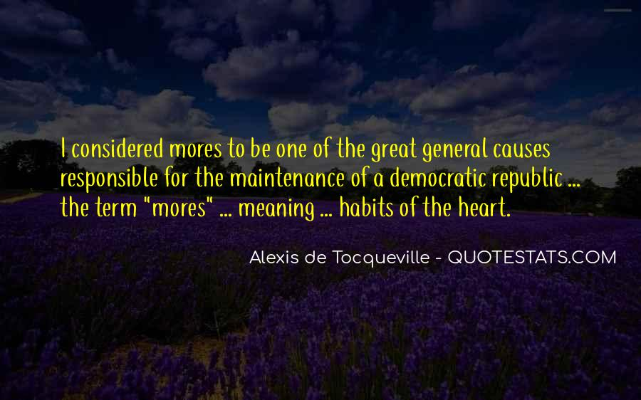 Quotes About Mores #776657