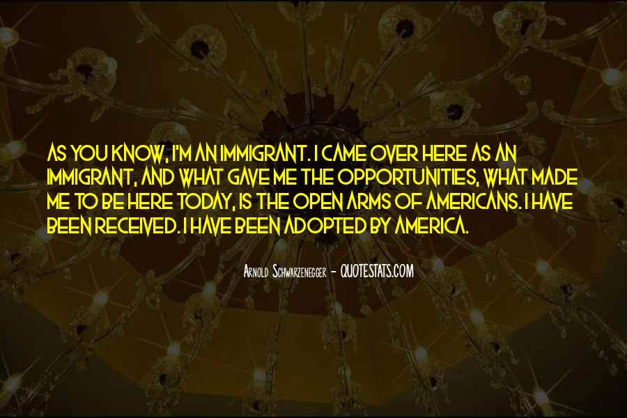 Arms Open Quotes #1024705