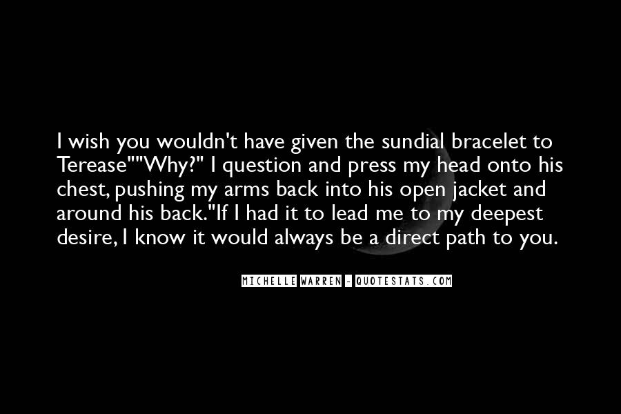 Arms Open Quotes #104630
