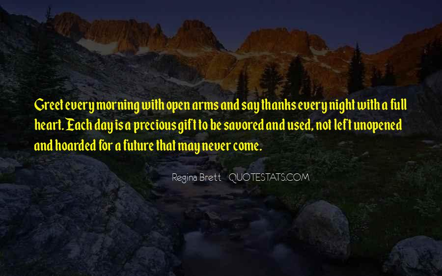 Arms Open Quotes #140577