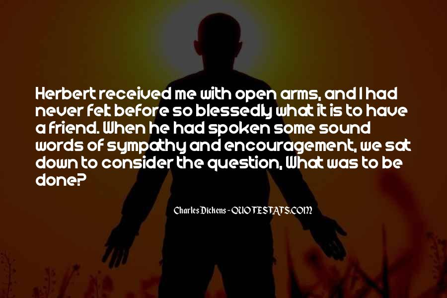 Arms Open Quotes #320538