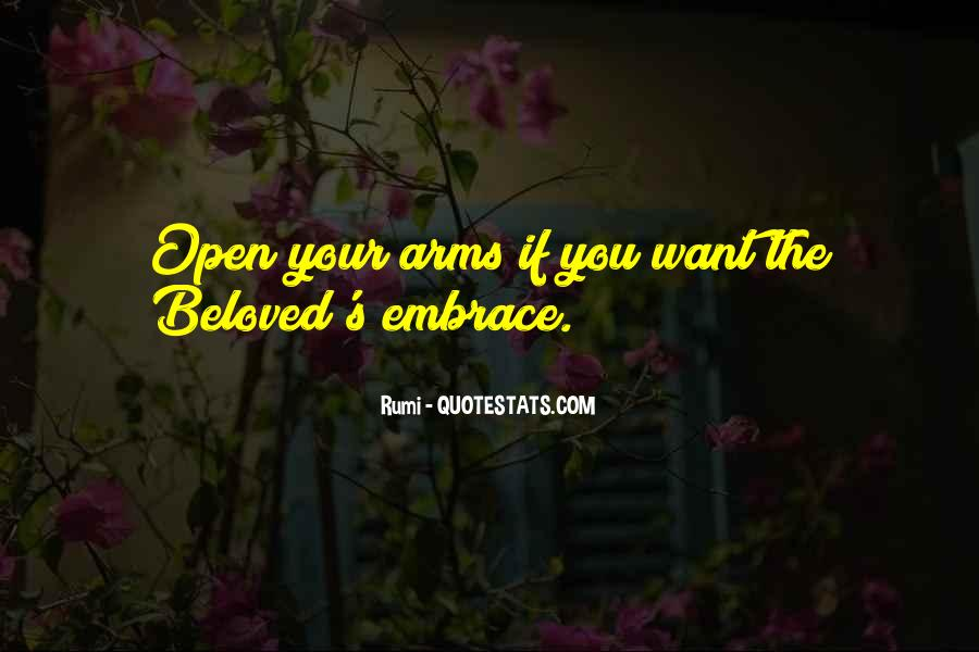 Arms Open Quotes #508993