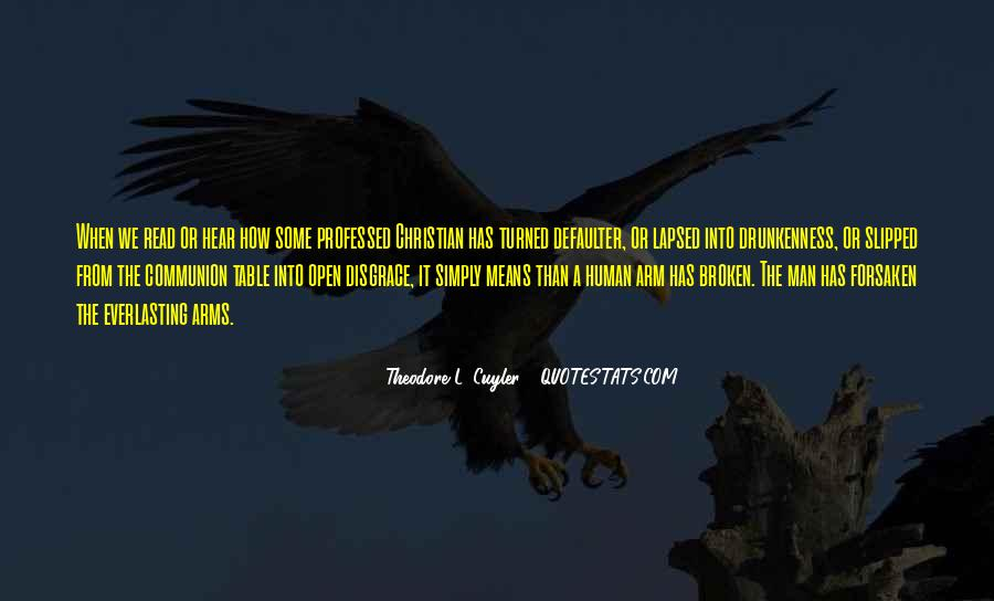 Arms Open Quotes #630783