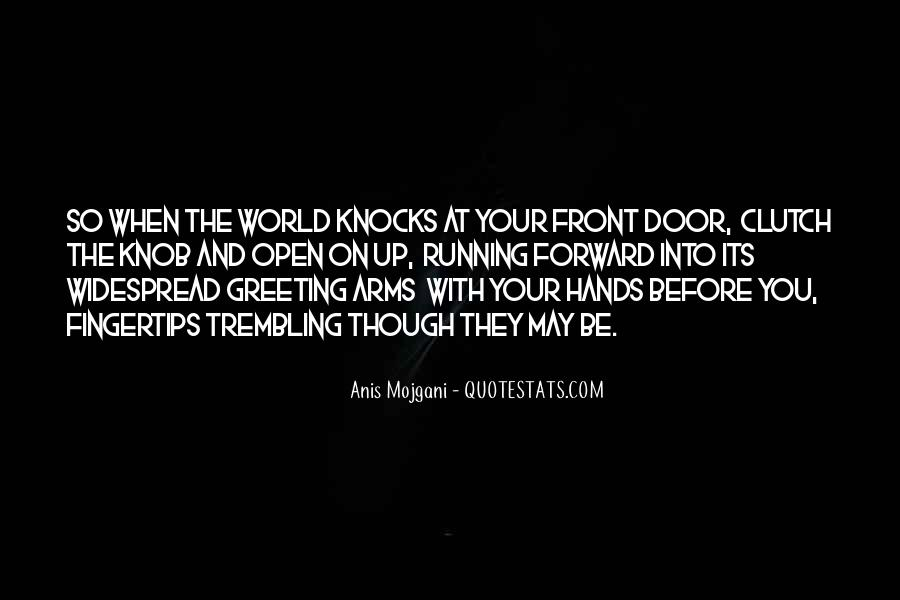 Arms Open Quotes #957994