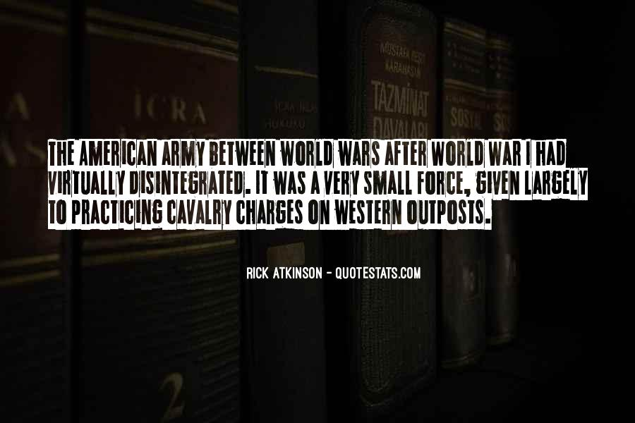 Army Cavalry Quotes #1854445