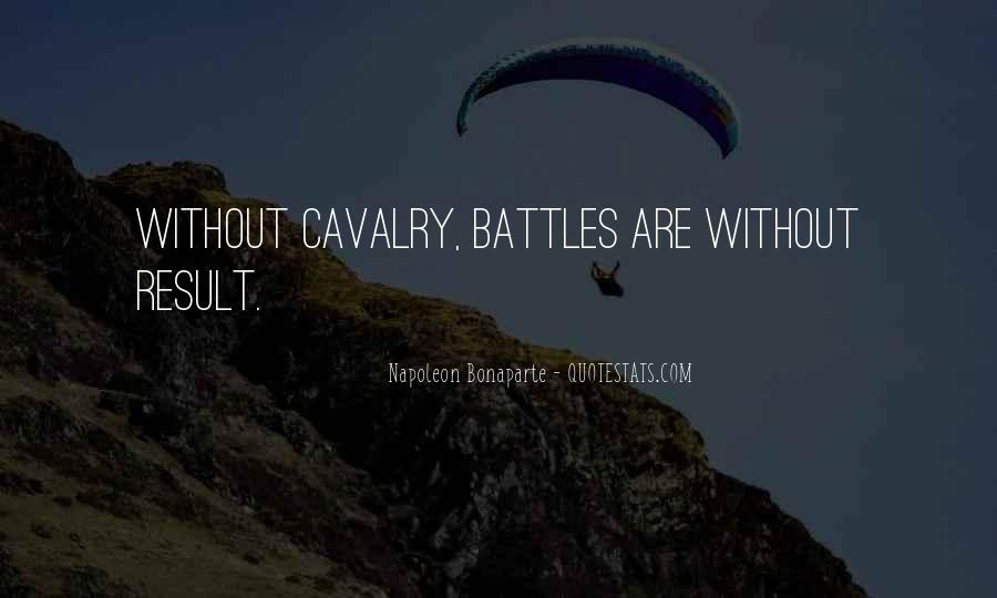 Army Cavalry Quotes #22909