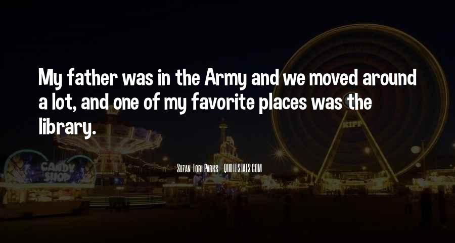 Army Father Quotes #1367974