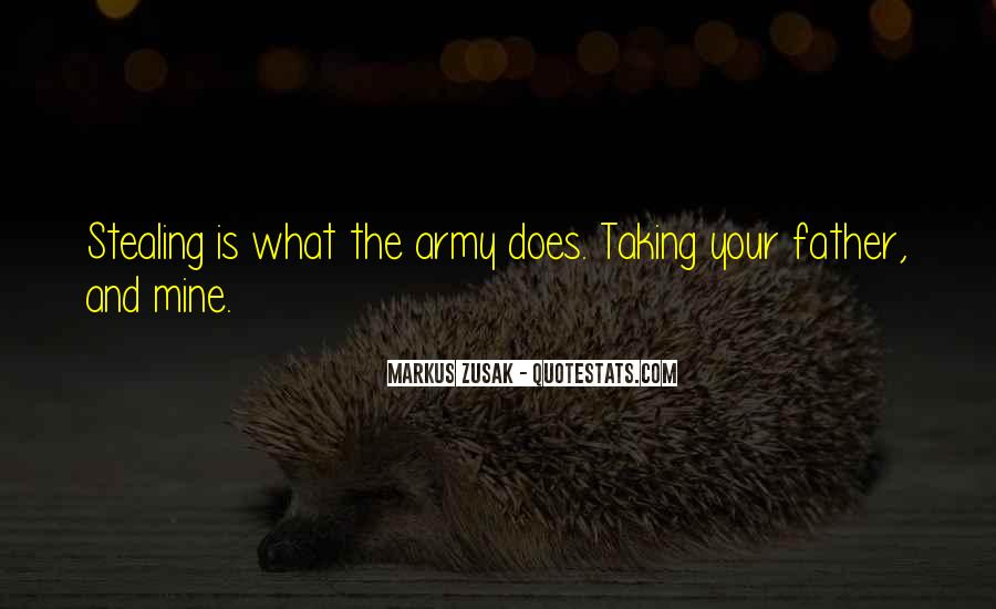Army Father Quotes #1383533