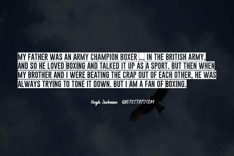 Army Father Quotes #410762