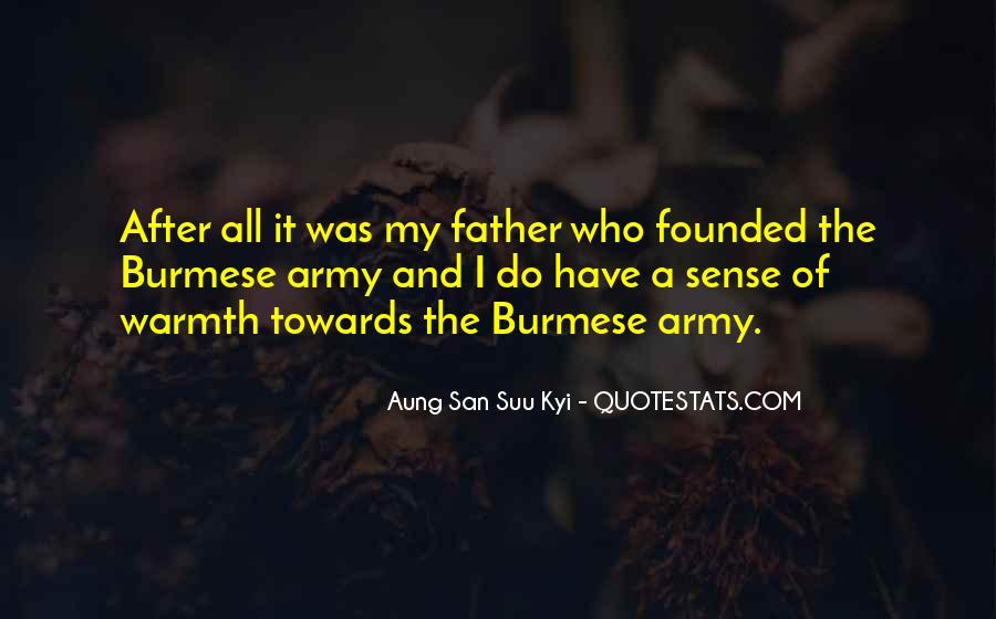 Army Father Quotes #95109
