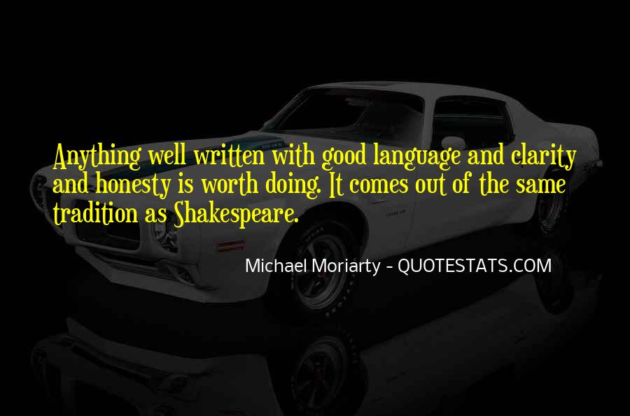 Quotes About The Written Language #1062773