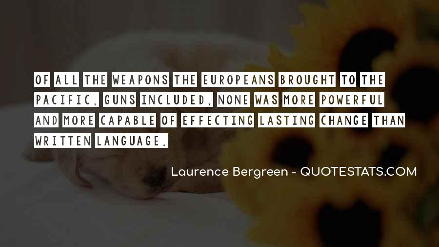 Quotes About The Written Language #1104228