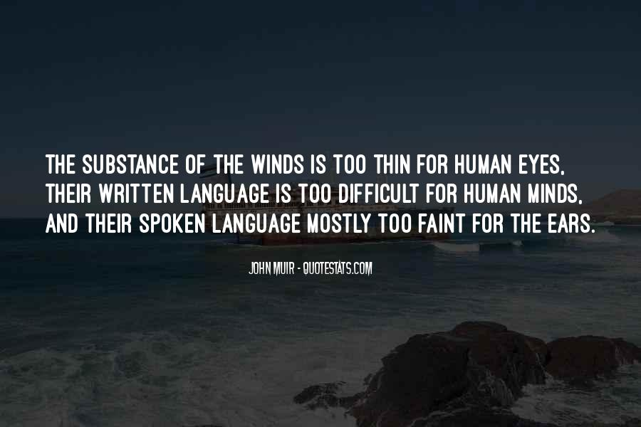 Quotes About The Written Language #1176158
