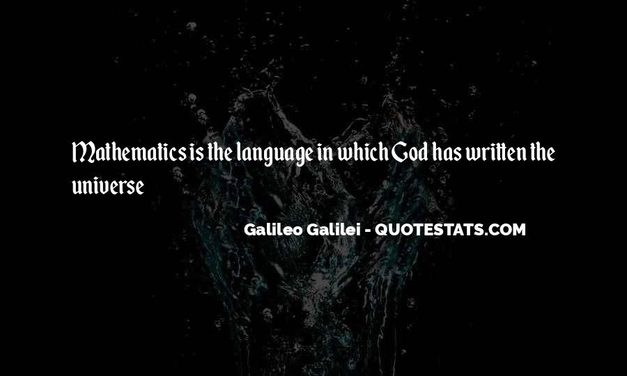 Quotes About The Written Language #1221136