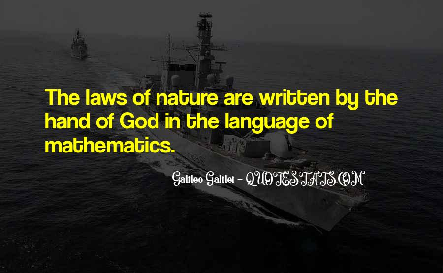 Quotes About The Written Language #1267637