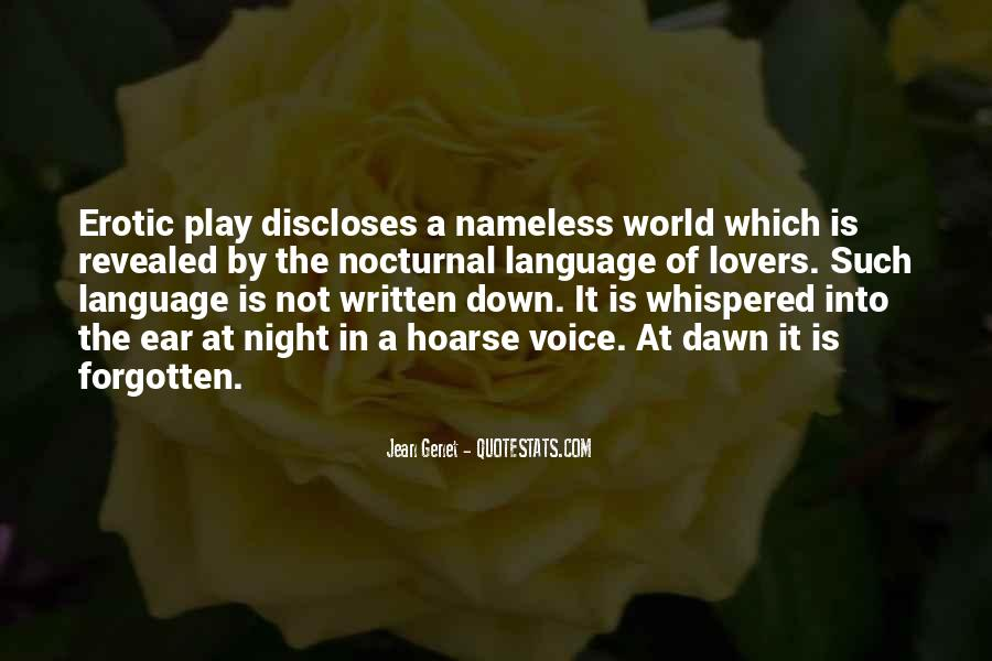 Quotes About The Written Language #145604