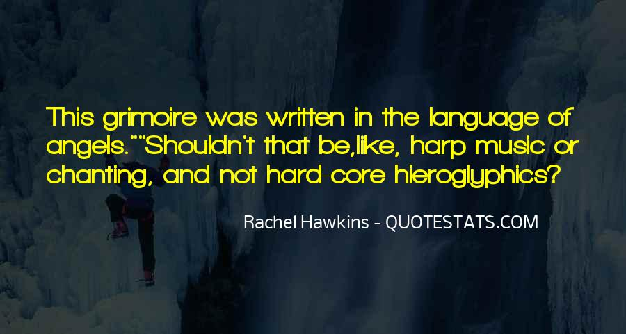 Quotes About The Written Language #1512551