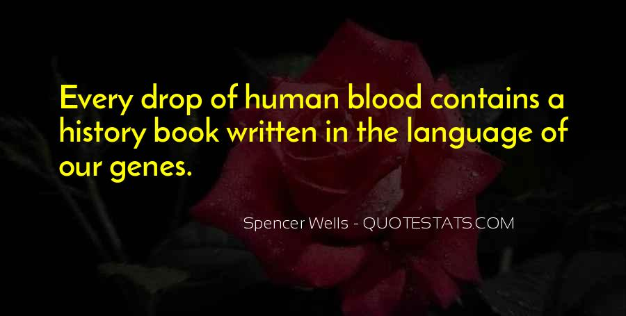 Quotes About The Written Language #1543131