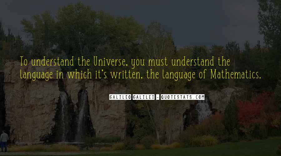 Quotes About The Written Language #363597