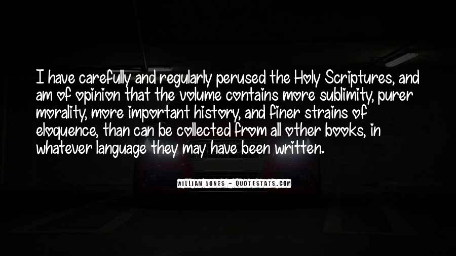 Quotes About The Written Language #496614