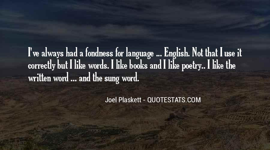 Quotes About The Written Language #670674