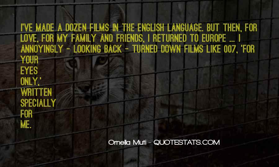 Quotes About The Written Language #67441