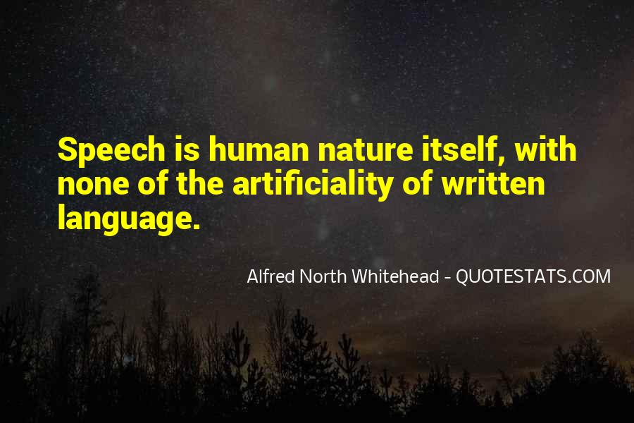 Quotes About The Written Language #680207