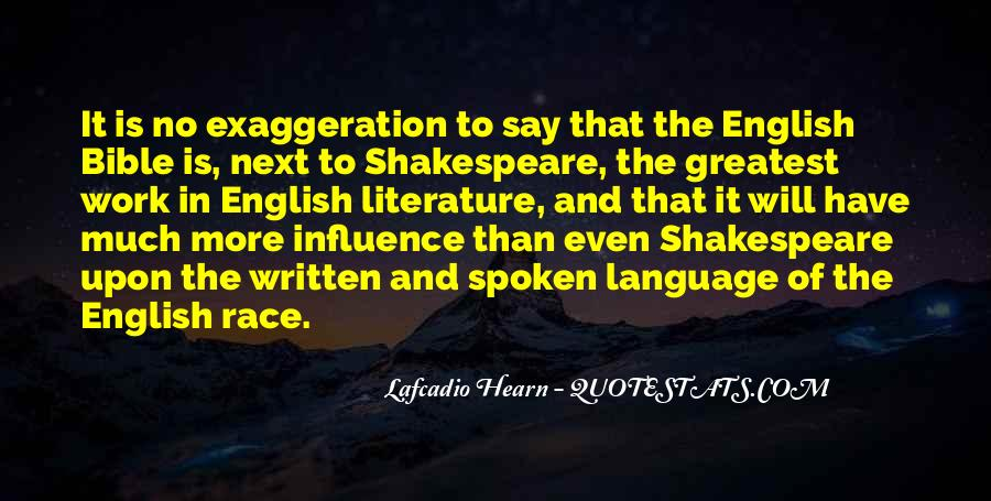 Quotes About The Written Language #848455