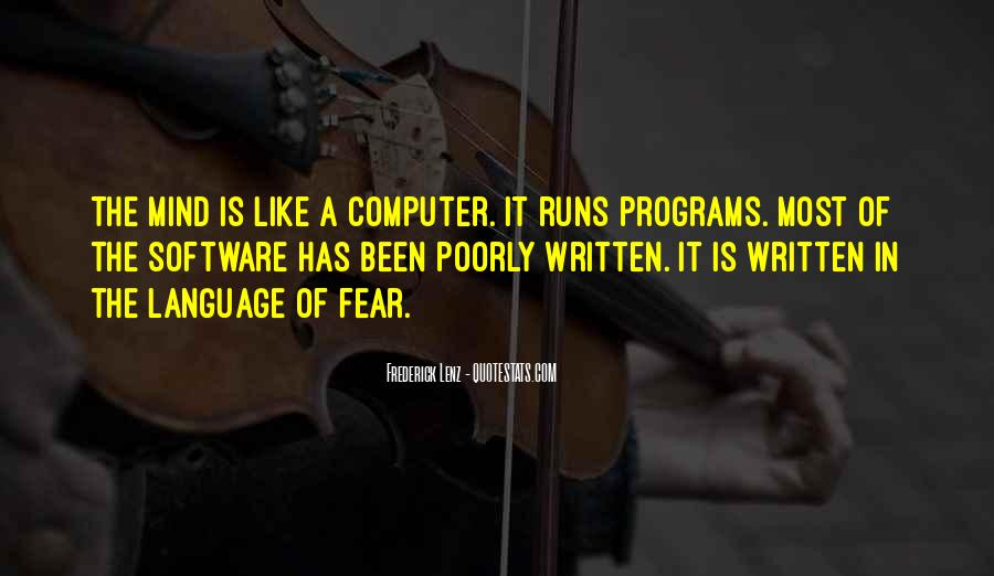 Quotes About The Written Language #983755
