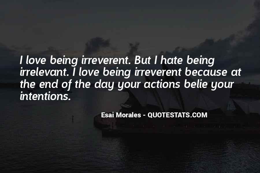 Quotes About Morales #1056967
