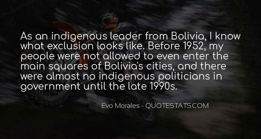 Quotes About Morales #1105809
