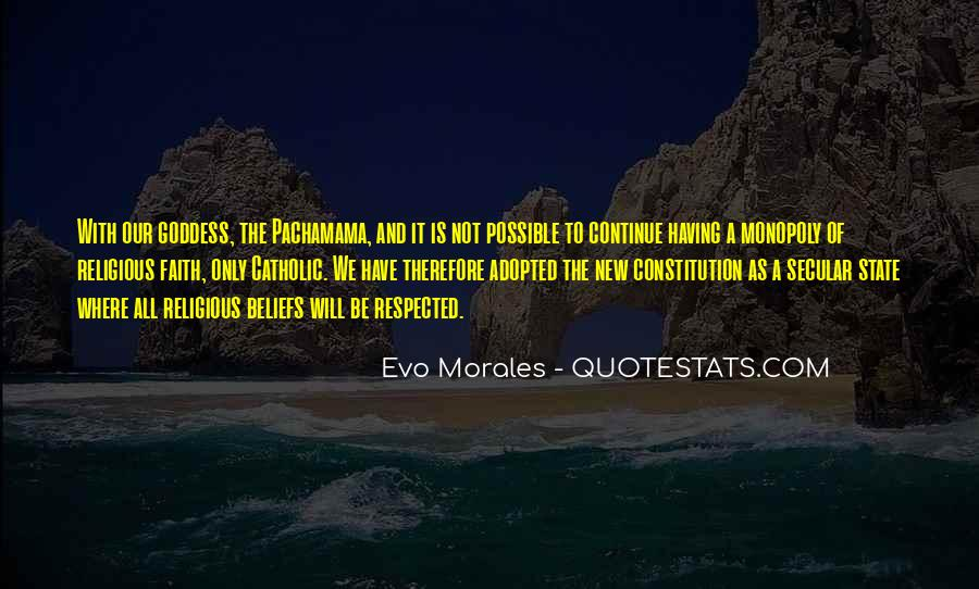 Quotes About Morales #116700