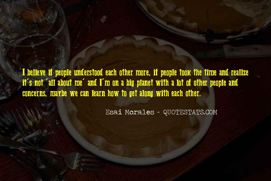 Quotes About Morales #12404