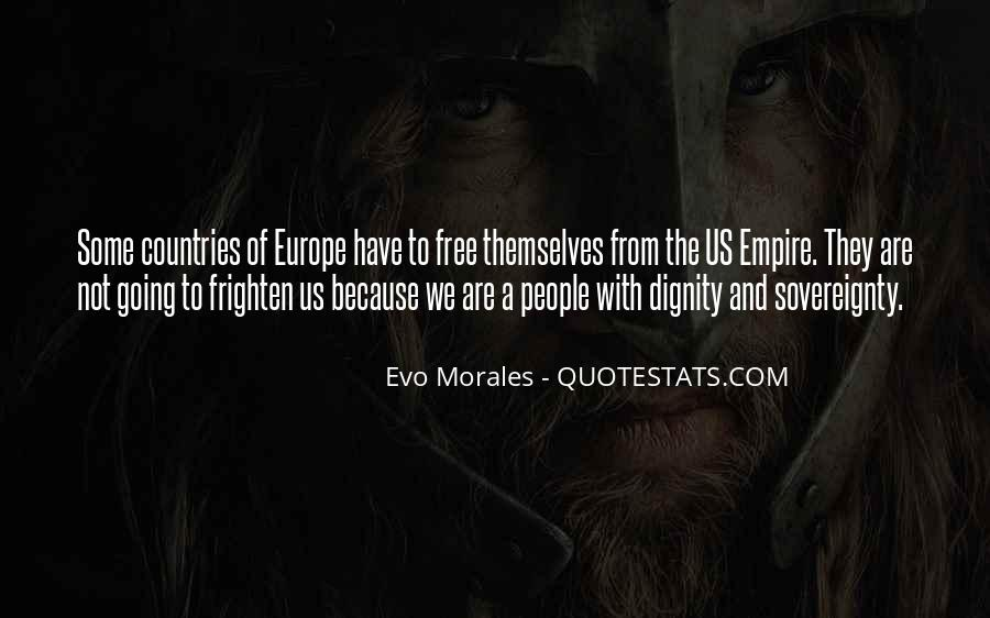 Quotes About Morales #744401