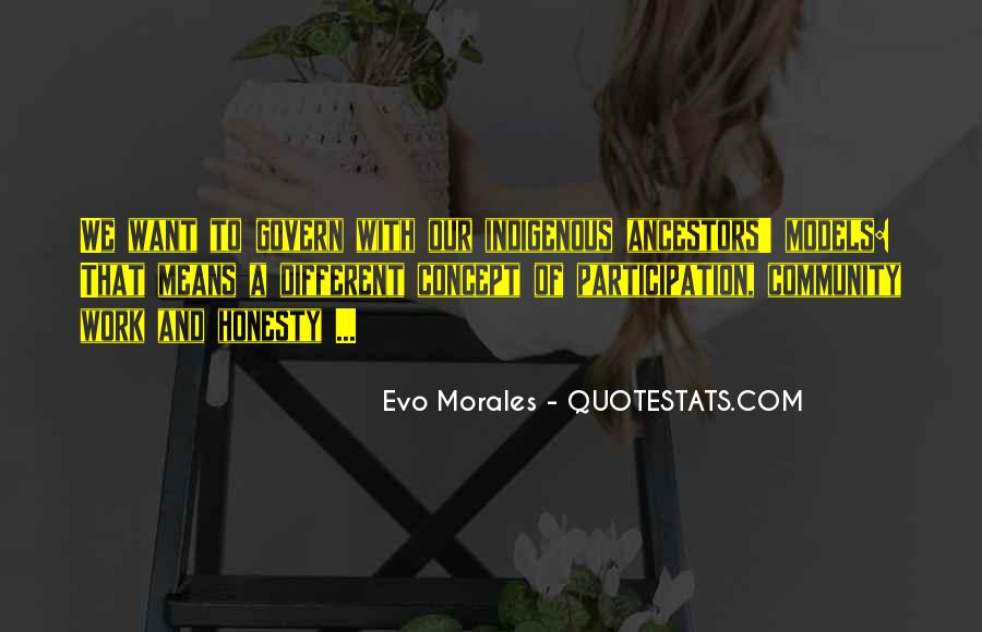 Quotes About Morales #838886