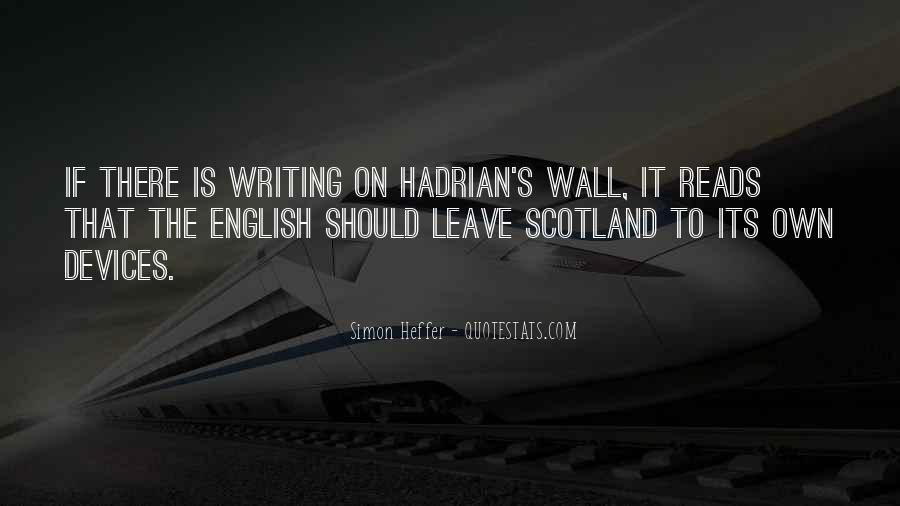Quotes About The Writing On The Wall #1741345