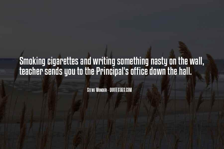 Quotes About The Writing On The Wall #226679