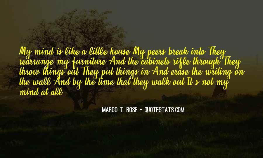 Quotes About The Writing On The Wall #92758