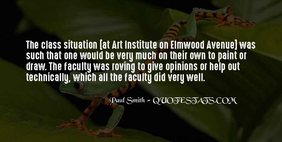 Art Institute Quotes #1074780
