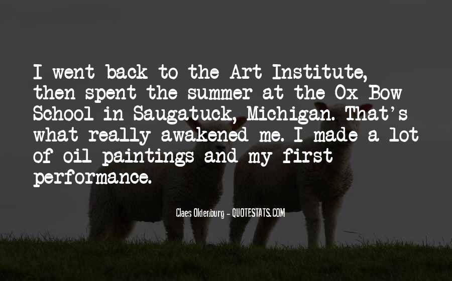 Art Institute Quotes #1808390