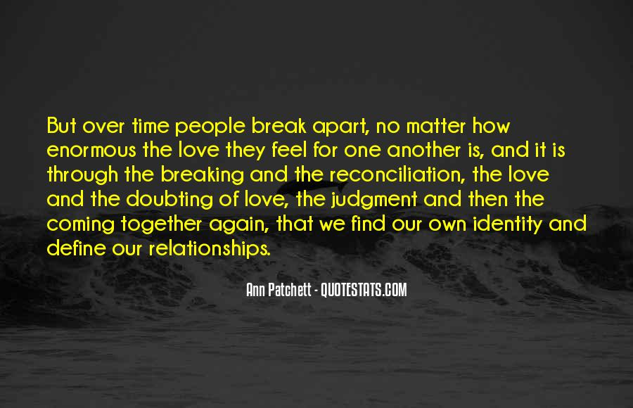 As Time Goes By Love Quotes #3452