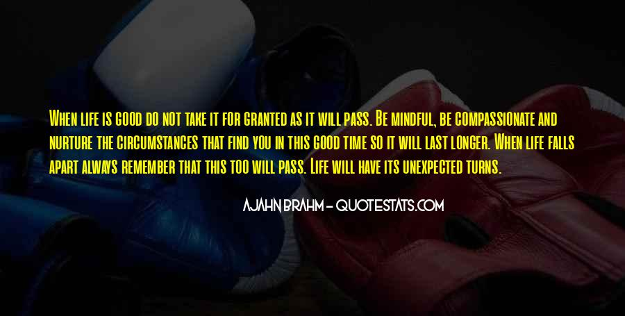As Time Pass Quotes #1212983