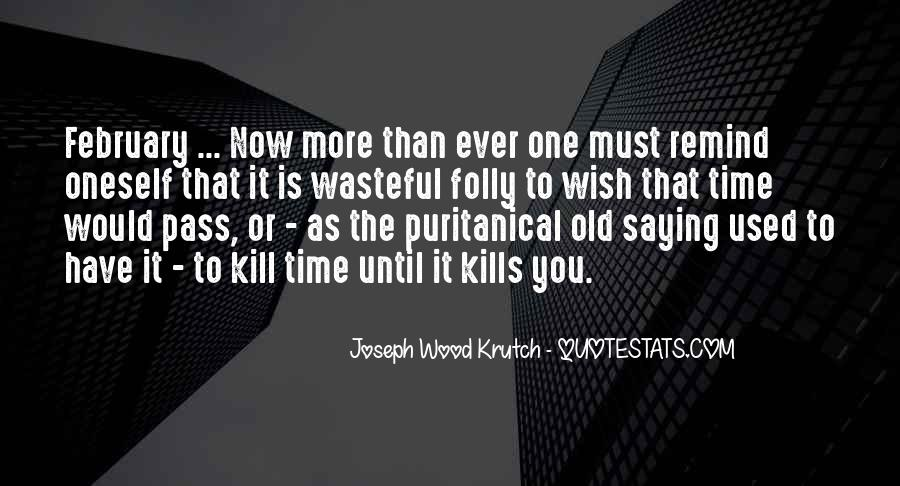 As Time Pass Quotes #1304568