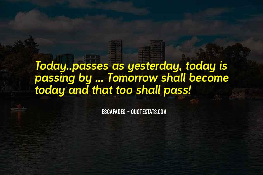 As Time Pass Quotes #1596153