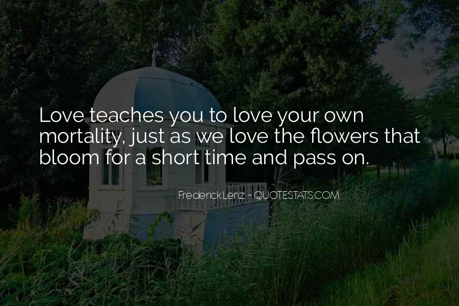 As Time Pass Quotes #1815684