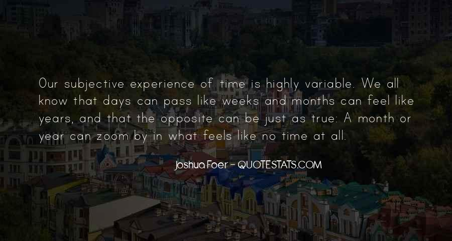 As Time Pass Quotes #505522