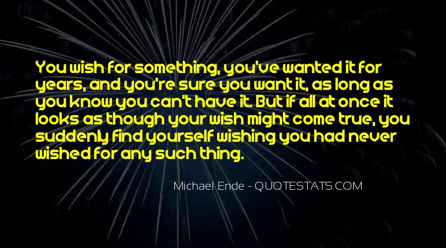 As You Wish Quotes #9803