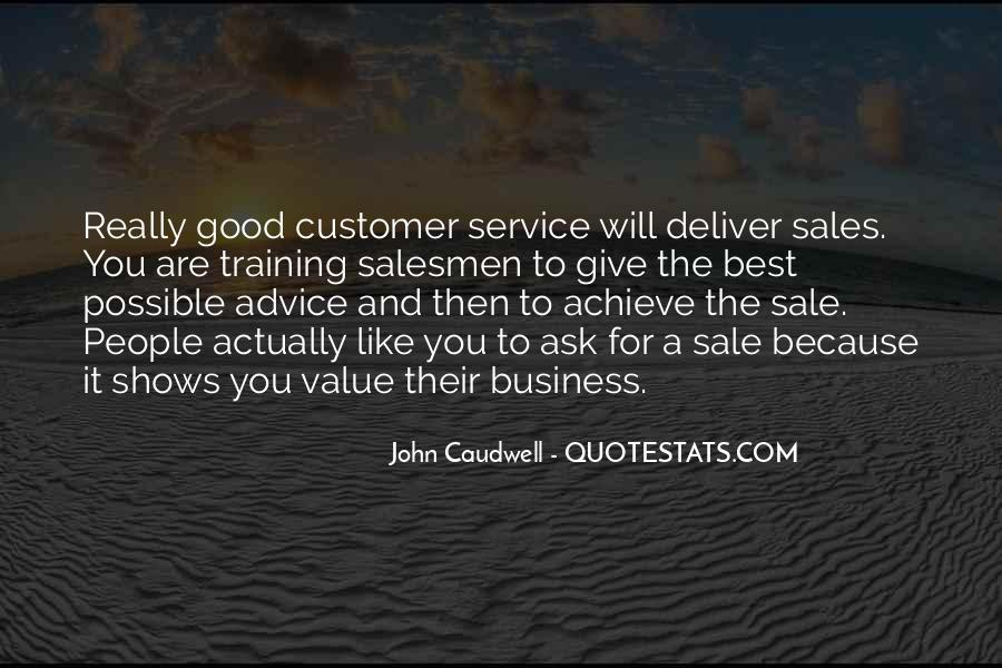 Ask For The Sale Quotes #31743